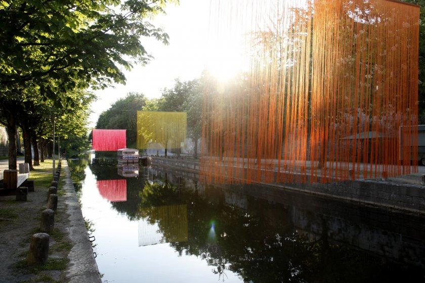 Installation von Elisa Vladilo im Lendhafen