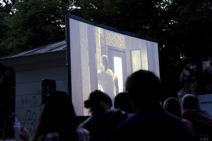 Open-Air Kino aus Kärnten im Lendhafen