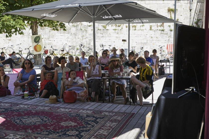 Austria / Kärnten / Klagenfurt / Lendhauer / Tage der deutschsprachigen Literatur - Ingeborg Bachmannpreis / Public Viewing Samstag