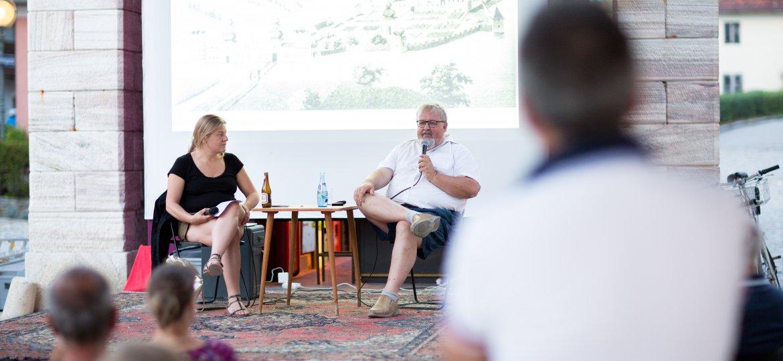 Johannes Lebitsch präsentiert im Gespräch mit Simone Egger alte Ansichten vom Lendkanal