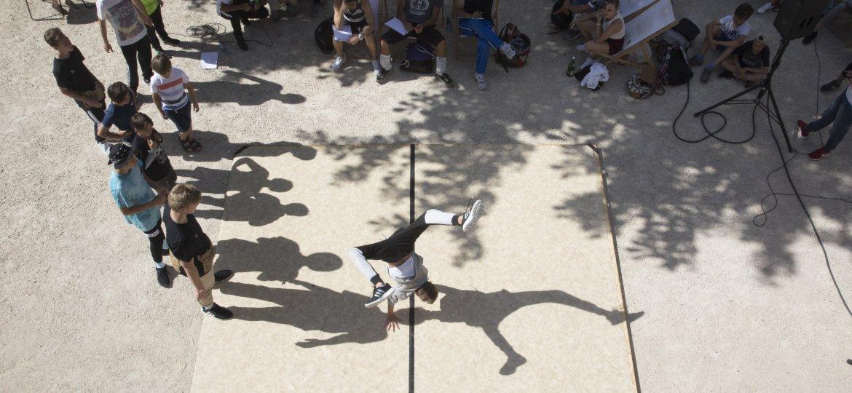 Breakdance Battle Path to Flow im Lendhafen