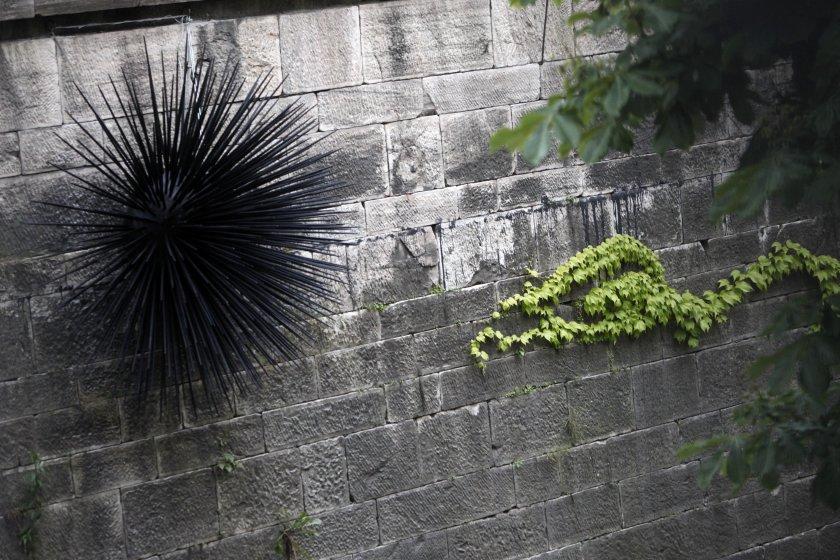 Installation von Markus Wilfling im Lendhafen