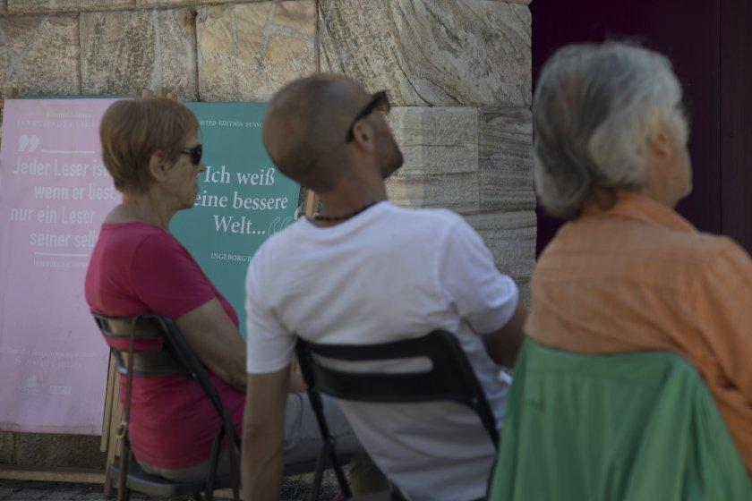 Bachmannpreis Public Viewing im Lendhafen