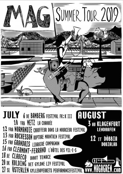 MAG Summer Tour 2019